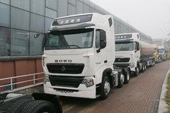 中国重汽 HOWO T7H重卡 440马力 6X2R牵引车(后提升桥)(ZZ4257V26FHE1B) 卡车图片