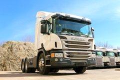 斯堪尼亚 P系列重卡 410马力 6X4牵引车(型号P410) 卡车图片