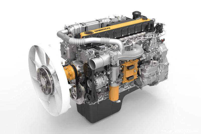 【图】潍柴wp10h336e50 336马力 10l 国五 柴油发动机