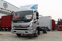 福田 奥铃CTS 131马力 4.18米单排栏板轻卡底盘(BJ1048V9JDA-FA) 卡车图片