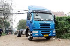 青岛解放 龙VH中卡 180马力 4X2 7.65米厢式载货车底盘(CA5160XXYPK2L5E5A80-3) 卡车图片