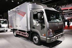 四川现代 盛图 129马力 4X2 冷藏车