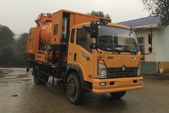 重汽王牌 7系 130马力 4X2 混凝土泵车(CDW5110THBHA2R5)