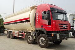 红岩 杰狮C100 390马力 8X4 粉粒物料运输车(CQ5316GFLHTVG466H)