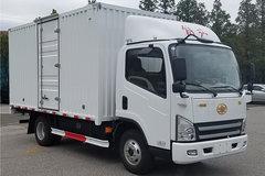 解放 虎V 122马力 4.2米单排纯电动厢式轻卡(CA5044XXYP40L1BEVA84) 卡车图片