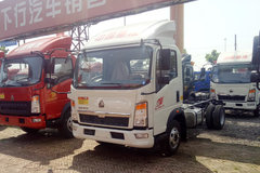 中国重汽HOWO 悍将 143马力 4.165米单排栏板轻卡底盘(ZZ1047F3315E145) 卡车图片