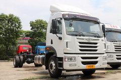 青岛解放 龙VH中卡 220马力 4X2 9.65米厢式载货车底盘(CA5189XXYPK2L7E5A80) 卡车图片