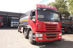 青岛解放 悍V 260马力 8X2 化工液体运输车(程力威牌)(CLW5314GFWC5)
