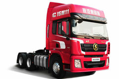 陕汽康明斯 德龙X3000 轻量化版 450马力 6X4 AMT自动挡牵引车(SX4250XC4Q) 卡车图片