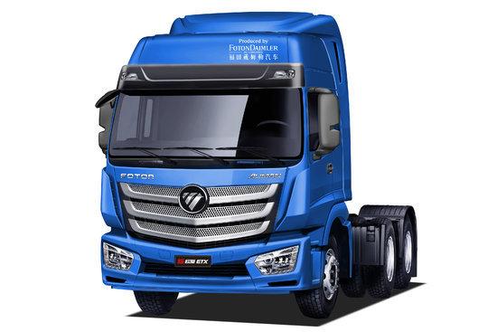 福田 欧曼新etx 6系重卡 360马力 6x4牵引车(bj4253snfkb-ac)图片