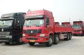 中国重汽 HOWO重卡 290马力 8X4 栏板载货车(ZZ1317M4669V)