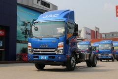 江淮 新帅铃H330 山区版 154马力 4.12米单排厢式轻卡底盘(HFC5043XXYP71K3C2V)
