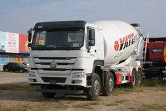中国重汽 HOWO重卡 380马力 8X4 5.5方混凝土搅拌车底盘(ZZ1317N3667E1)