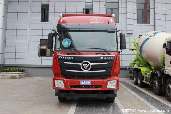 福田 欧曼gtl 9系重卡 400马力 8x4 6.8米自卸车(12档图片