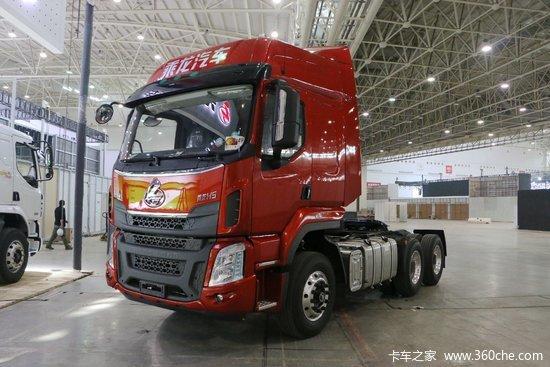 东风柳汽 乘龙h5重卡 430马力 6x4牵引车(lz4251m7db)