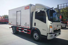 重汽HOWO 悍将 95马力 4X2冷藏车(ZZ5047XLCF3315E145)