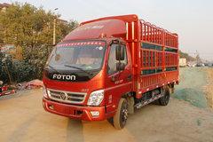 福田 奥铃TX 标配版 110马力 4.23米单排仓栅式轻卡(断气刹)(BJ5049CCY-C1) 卡车图片