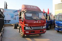 江淮 骏铃V7 154马力 5.2米排半栏板轻卡(HFC1091P91K1D1V) 卡车图片