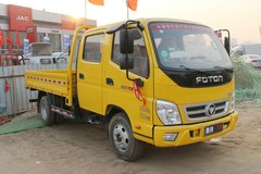 福田 奥铃TX 110马力 3.22米双排栏板轻卡(液刹)(BJ1041V9ADA-A1) 卡车图片