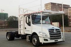 西风柳汽 乘龙T5重卡 330马力 4X2车辆运输长头牵引车(LZ5180TBQT5AB) 卡车图片
