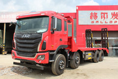 江淮 格尔发K5W 350马力 8X4平板运输车(12档)(HFC5311TPBP1K4H38S3V)