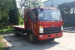 中国重汽HOWO 统帅 物流版 148马力 4X2 平板运输车(ZZ5047TPBF341CE145)