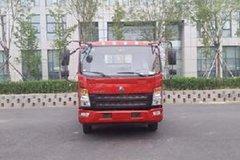中国重汽HOWO 统帅 物流版 141马力 4X2 平板运输车(ZZ5047TPBF341CE145)