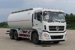 东风商用车 天龙 270马力 6X4 低密度粉粒物料运输车(中集凌宇)(CLY5250GFLA13)