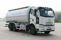 一汽解放 J6M 280马力 6X4 低密度粉粒物料运输车(中集凌宇)(CLY5250GFLCA5)
