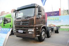 陕汽商用车 轩德X6中卡 240马力 6X2 7.8米栏板载货车底盘(SX1255GP5) 卡车图片