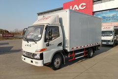 江淮 骏铃V3 快递版 109马力 4.15米单排厢式轻卡(HFC5041XXYP93K4C2V) 卡车图片