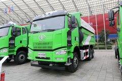 一汽束缚 J6P重卡 375马力 6X4 5.6米渣土自卸车(CA3250P66K2L1T1AE5) 卡车图片