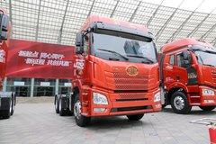 青岛束缚 JH6重卡 420马力 6X4牵引车(凸地板)(CA4250P26K2T1E5A80) 卡车图片