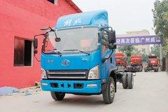 束缚 虎VH 大王版 160马力 5.4米排半厢式轻卡底盘(CA5102XXYP40K2L4E5A85-3) 卡车图片