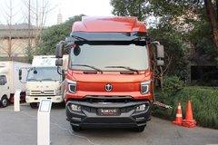 飞碟缔途 XH 245马力 6X2 7.7米排半仓栅式载货车 卡车图片