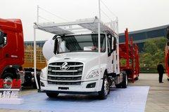 西风柳汽 乘龙T5重卡 270马力 4X2车辆运输长头牵引车(LZ4180T5AB) 卡车图片