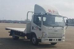 解放 J6F 120马力 4X2 4.21米平板运输车(CA5045TPBP40K17L1E5A84)