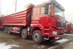 陕汽重卡 德龙新M3000 310马力 8X4 7.6米自卸车(10挡)(SX3310MB406) 卡车图片