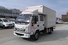 跃进 上骏X100-33 112马力 3.18米双排厢式轻卡(SH5042XXYKFDCNS) 卡车图片