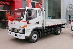 江淮 骏铃V6 156马力 3.905米排半栏板轻卡(HFC1043P91K2C2V) 卡车图片
