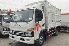 江淮 骏铃V6 120马力 4.18米单排仓栅式载货车(HFC5043CCYP91K1C2V) 卡车图片
