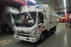 福田 奥铃TS 110马力 3.83米排半仓栅式轻卡(BJ5045CCY-F2) 卡车图片