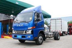 江淮 骏铃V6 130马力 4.15米单排厢式轻卡(HFC5043XXYP91K5C2V-1) 卡车图片