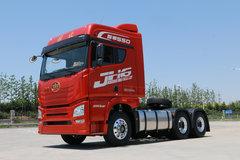 青岛束缚 JH6重卡 智尊550 550马力 6X4牵引车(潍柴白色版)(CA4259P25K2T1E5A80) 卡车图片