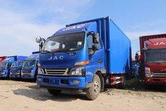 江淮 骏铃V7 160马力 4X2 4.9米排半厢式载货车(HFC5091XXYP91K2C6V) 卡车图片
