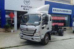 福田 欧马可S3系 156马力 5.25米排半栏板轻卡(BJ1108VEPED-FA) 卡车图片