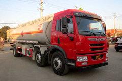 青岛解放 龙V 220马力 6X2 易燃液体罐式运输车(醒狮牌)(SLS5253GRYC5V)