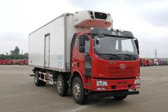 一汽解放 J6L 240马力 6X2 8.7米冷藏车(CA5250XLCP62K1L7T3E5)