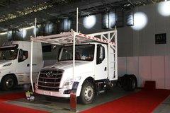 西风柳汽 乘龙T5重卡 280马力 4X2车辆运输长头牵引车(LZ5180TBQT5AB) 卡车图片