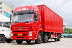 三环十通 昊龙 豪华版 280马力 8X2 9.6米厢式载货车(STQ5311XXYA5) 卡车图片